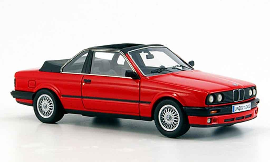 Bmw 325 E30 1/43 Neo i (E 30) Baur Cabriolet rouge 1986 miniature
