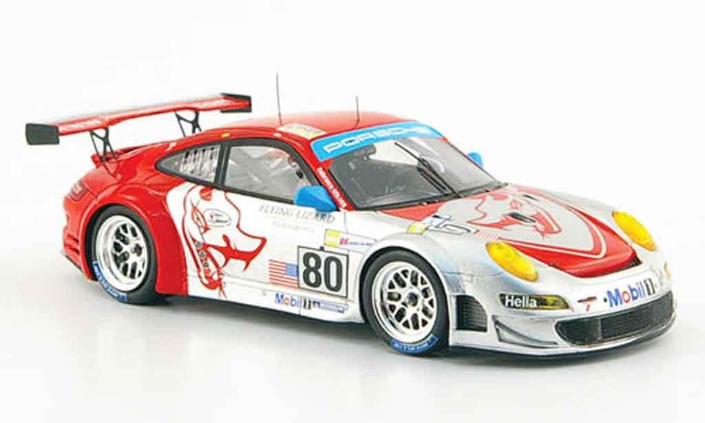 Porsche 997 GT3 RSR 1/43 Spark 2008 No.80 Le Mans diecast model cars