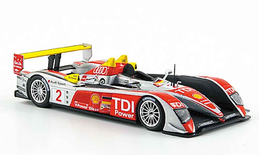 Audi R10 2008 1/43 Minichamps No.2 Sport Sieger 24h Le Mans miniature