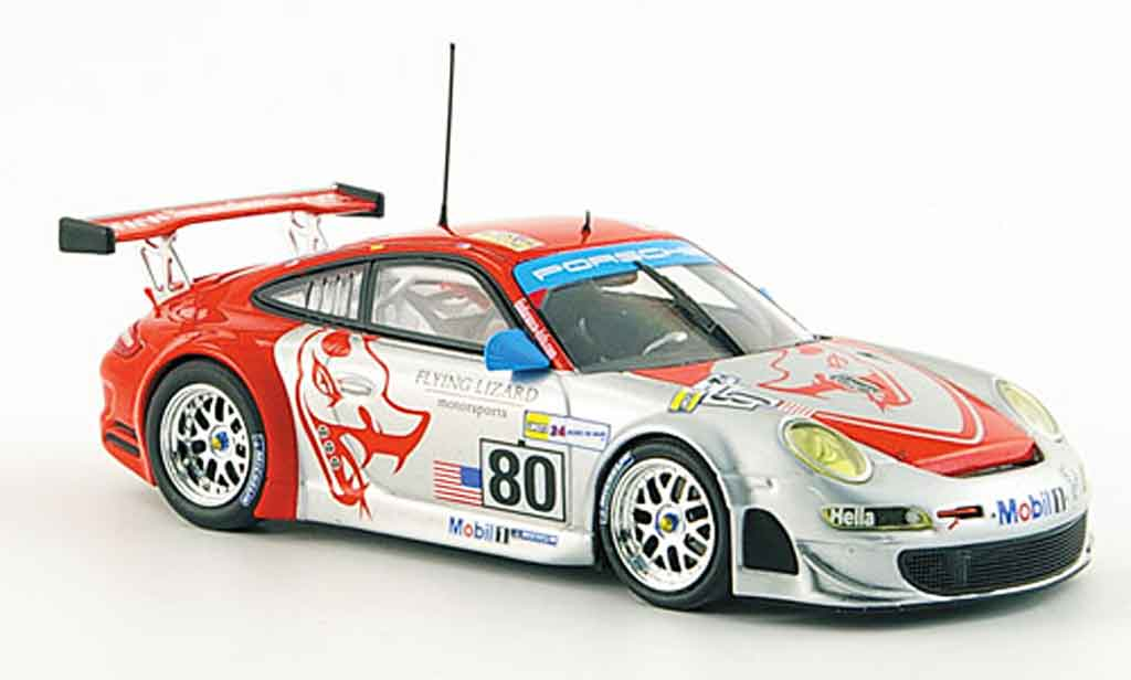 Porsche 997 GT3 RSR 1/43 Minichamps 2008 Flying Lizard Le Mans