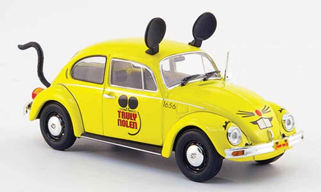 Volkswagen Coccinelle 1/43 Minichamps 1200 yellow truly nolen pest control 1983 diecast