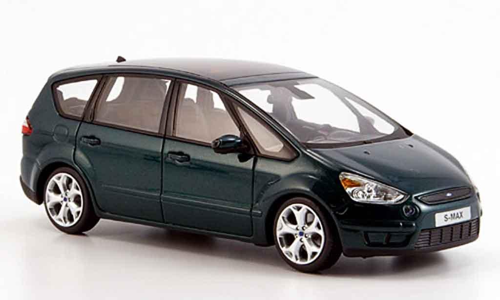 Ford S Max 1/43 Minichamps verte 2006