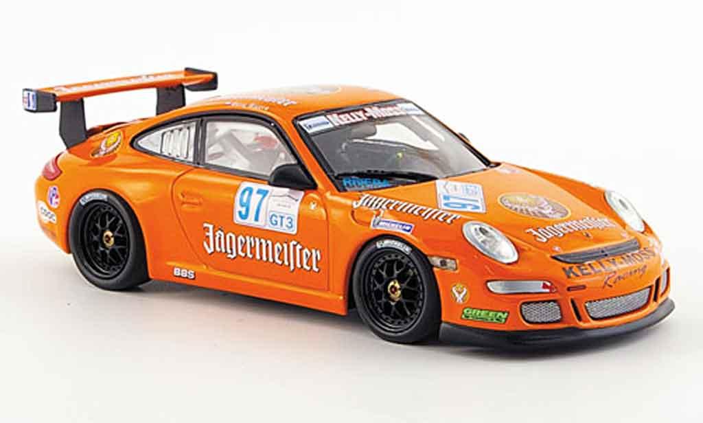 Porsche 997 GT3 CUP 1/43 Minichamps GT3 Cup 2008 Team Kellymoss Racing Le Mans diecast model cars