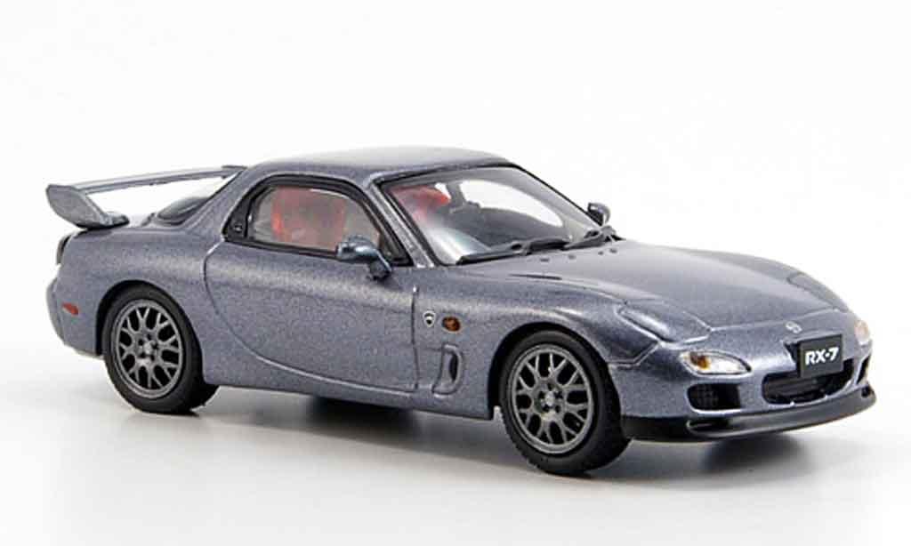 Mazda RX7 1997 1/43 Kyosho Esprit R grise miniature