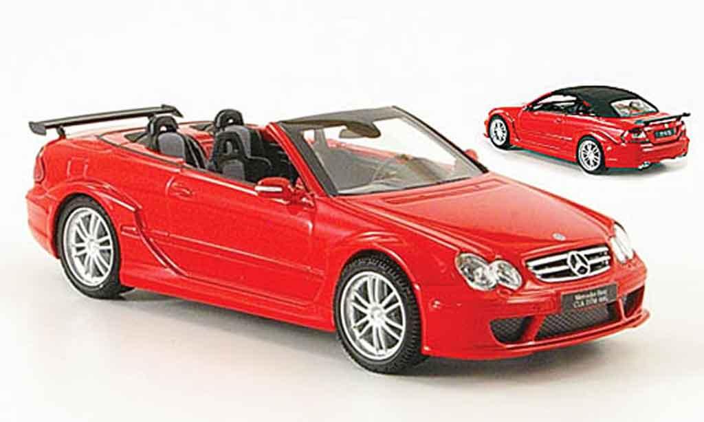 Mercedes Classe CL DTM 1/43 Kyosho K DTM AMG Cabriolet rouge miniature