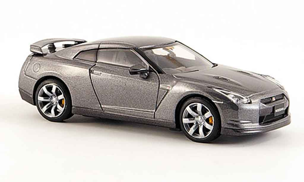 Nissan Skyline R35 1/43 Kyosho GTR grey 2008 diecast model cars