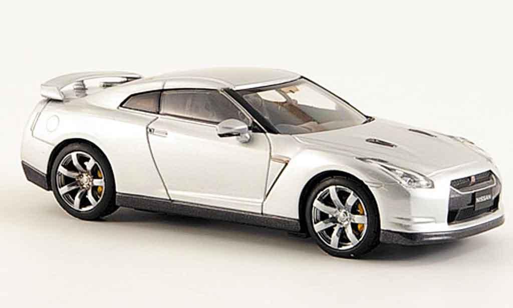 Nissan Skyline R35 1/43 Kyosho GTR grise metallisee 2008 miniature
