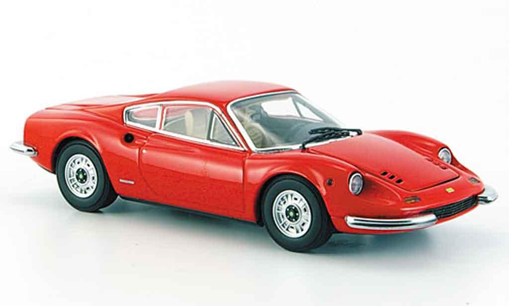 Ferrari 246 1/43 Kyosho 246 gt dino rosso miniatura