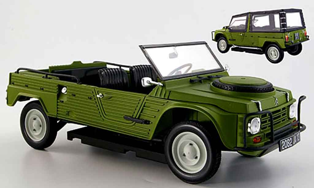 Citroen Mehari 1/18 Norev 4x4 grun 1979 miniature