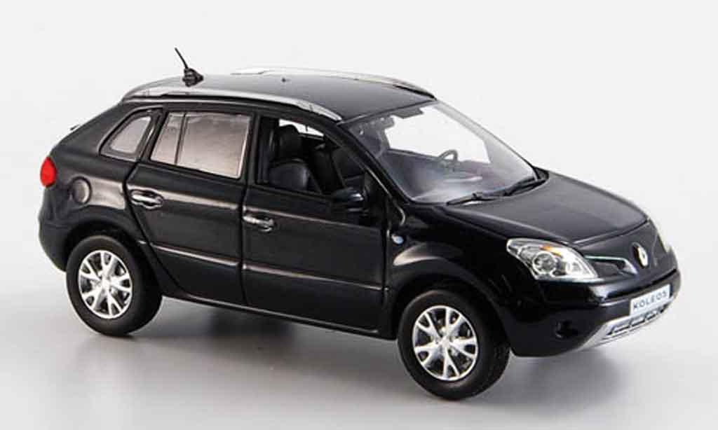 Renault Koleos 1/43 Norev noire 2008 miniature