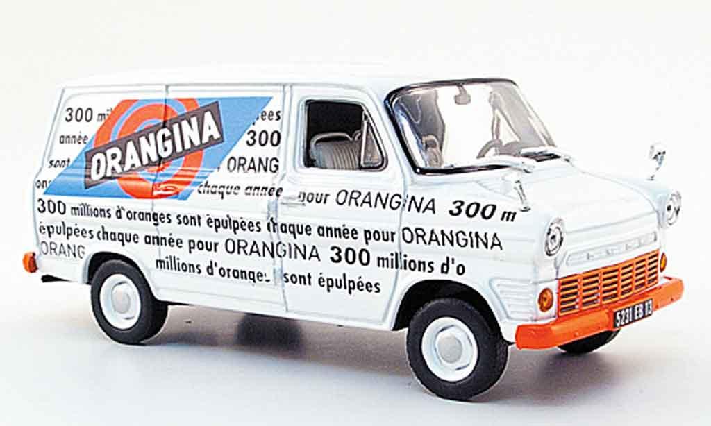 Ford Transit 1/43 Norev MK I Kasten Orangina 1970 miniature
