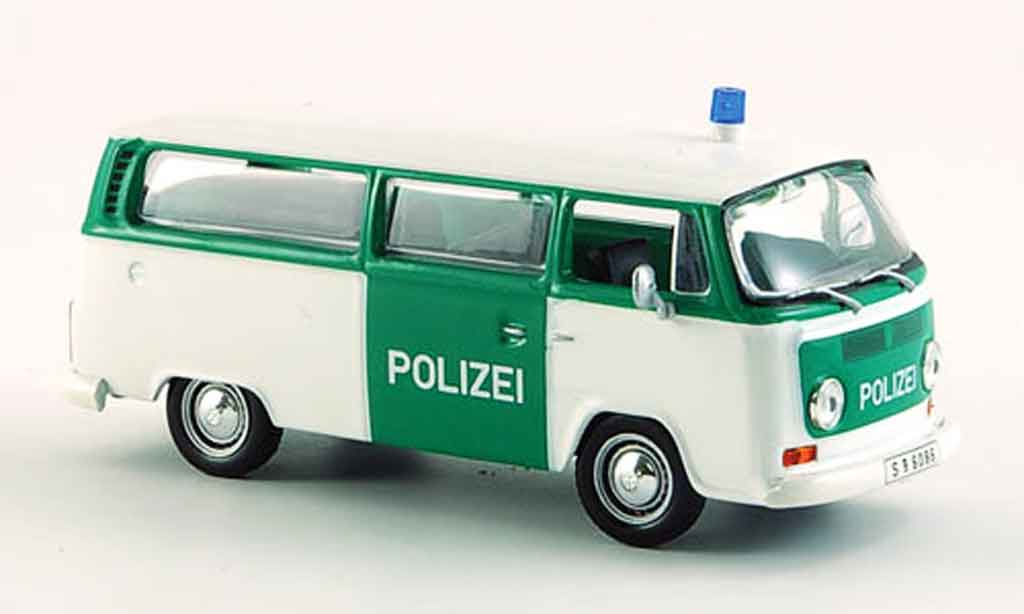 Volkswagen Combi 1/43 WhiteBox t2 bulli police fensterbus miniature