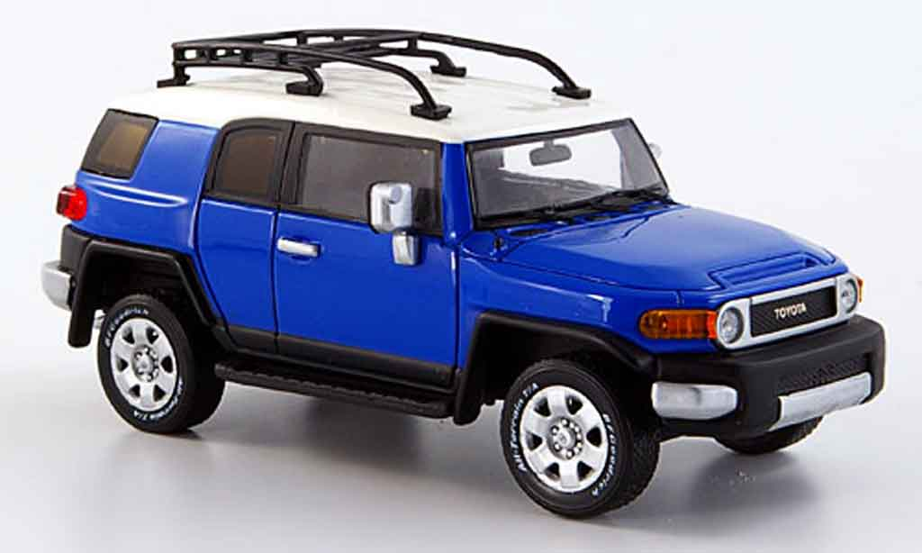 Toyota FJ Cruiser 1/43 Provence Moulage bleu 2006 miniature