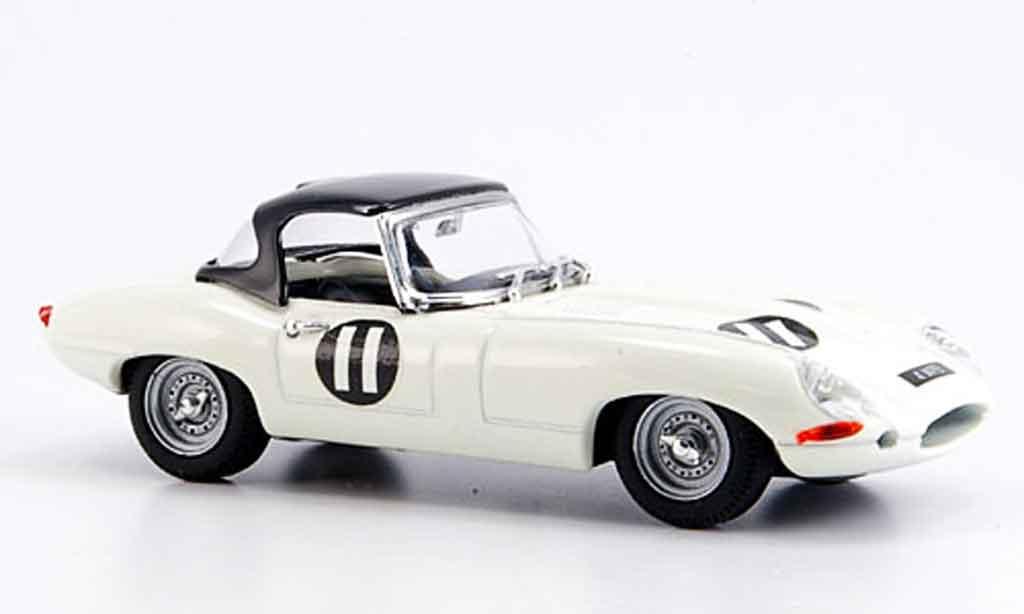 Jaguar E-Type 1962 1/43 Best 1962 spider tourist trophy miniature