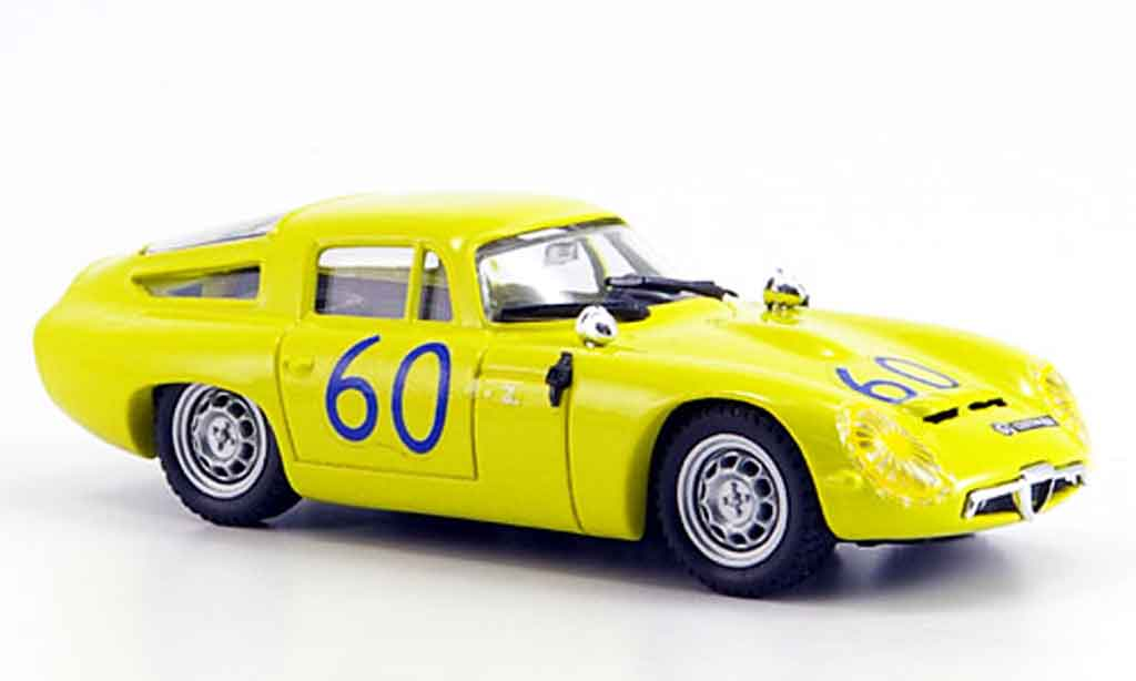 Alfa Romeo TZ1 1/43 Best no.60 kim targa florio 1965 miniature
