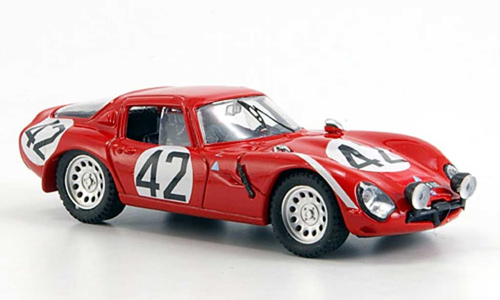 Alfa Romeo TZ2 1/43 Best Le Mans Zuccoli 1965 miniature
