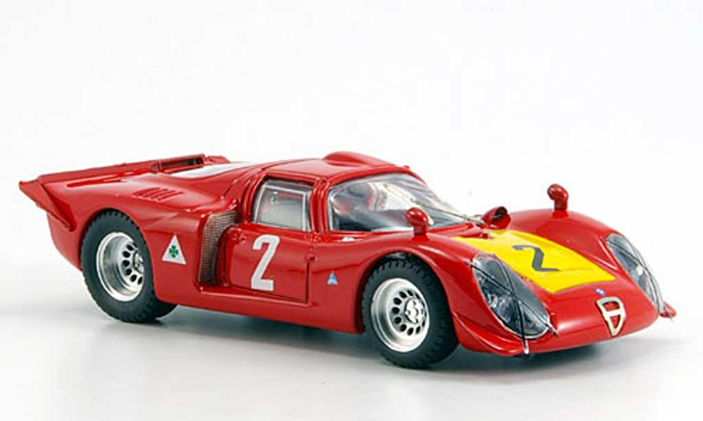 Alfa Romeo 33.2 1968 1/43 Best No.2 Imola miniature
