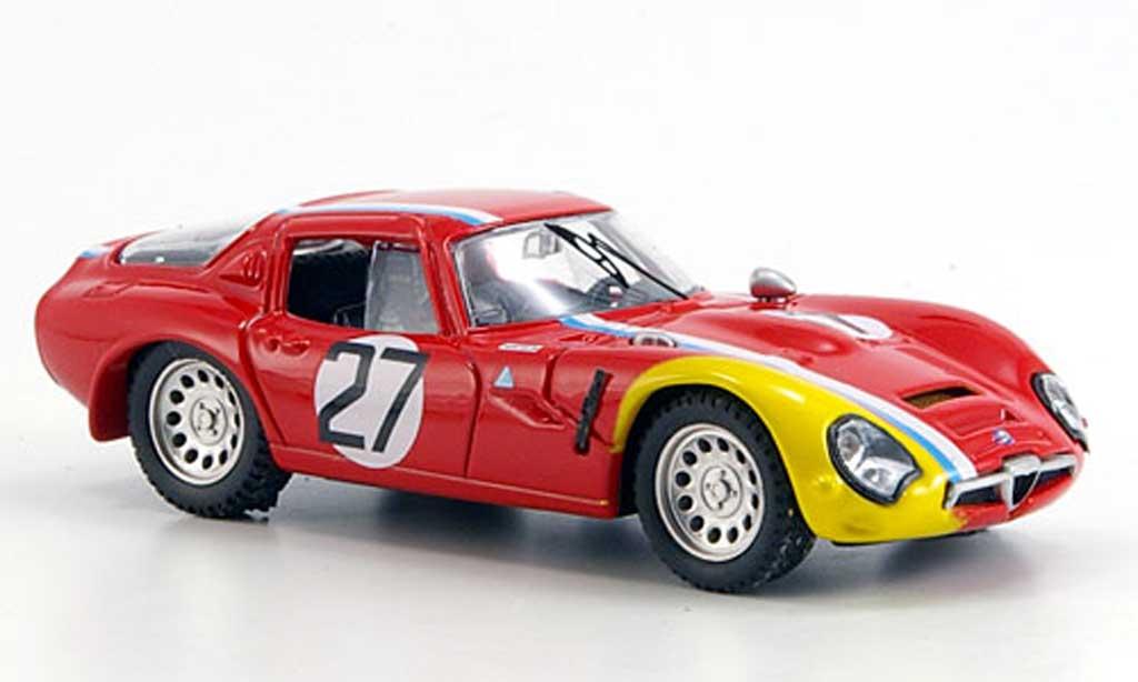Alfa Romeo TZ2 1/43 Best No.27 Pilette Monza 1967 miniature