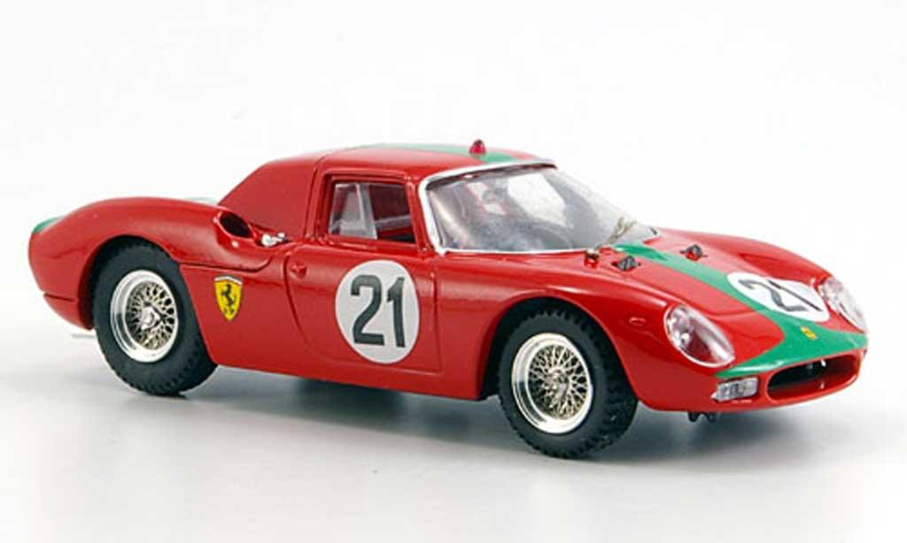 Ferrari 250 LM 1966 1/43 Best Monza De Siebenth modellautos