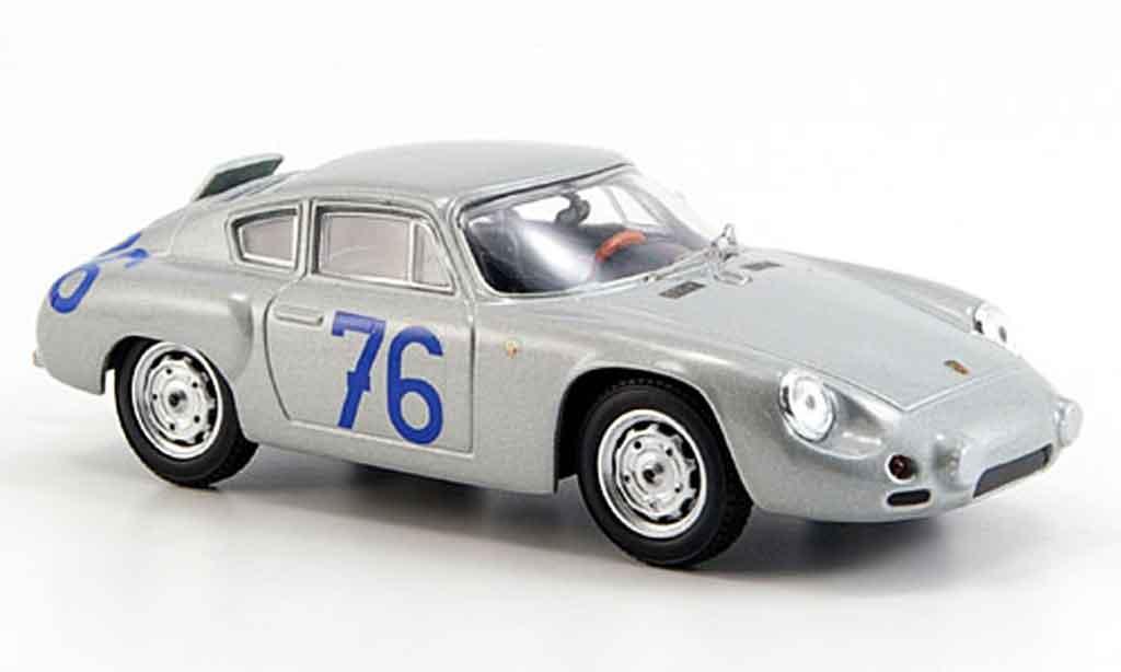 Porsche Abarth 1/43 Best AbarthNo.76 Targa Florio 1963 miniatura