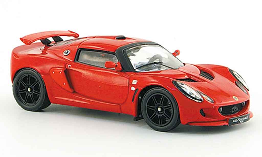 Lotus Exige 1/43 IXO s red 2006 diecast model cars