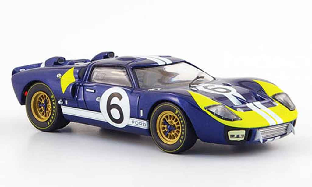 Ford GT40 1/43 IXO GT 40 MK II No.6 Andretti Bianchi 24h Le Mans 1966
