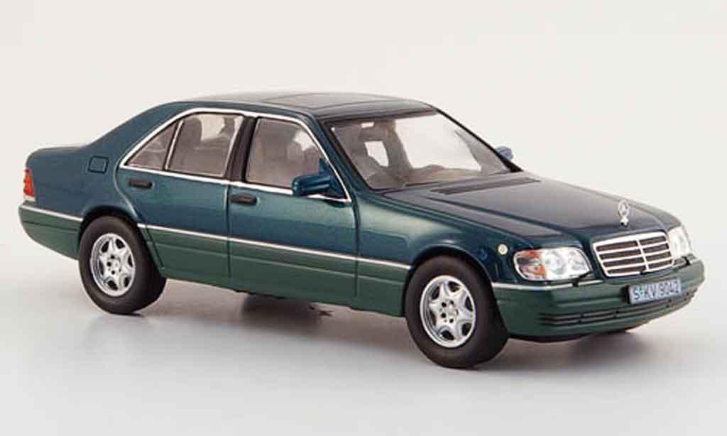 Mercedes Classe S 1/43 IXO S 500 (W 140) verte 1994