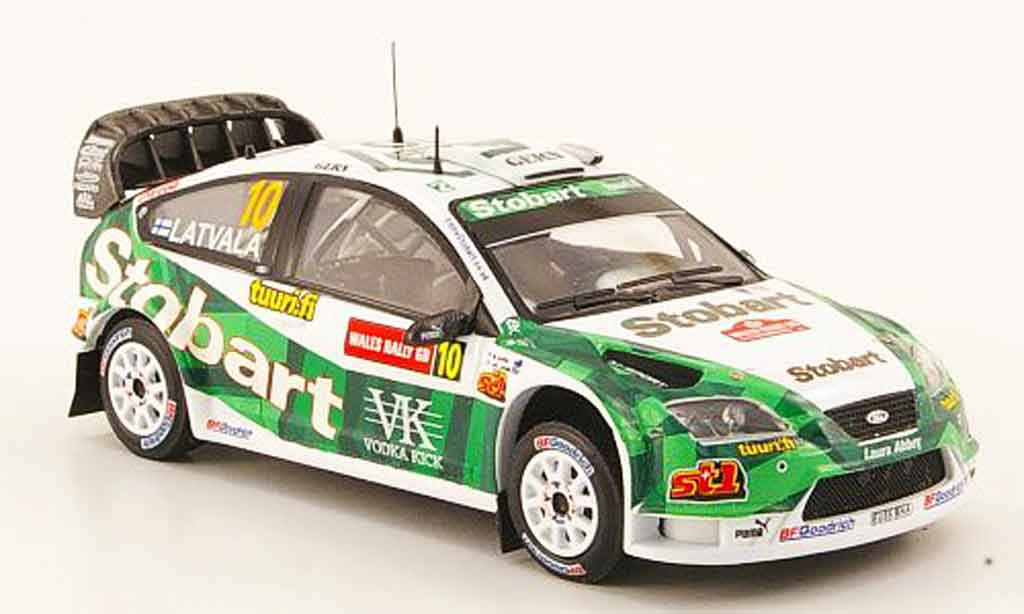 Ford Focus RS WRC 1/43 IXO No.10Rally Gro?britannien 2006 miniatura