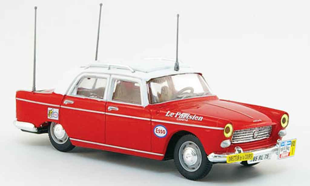 Peugeot 404 Berline 1/43 Norev directeur de course tour de france miniature