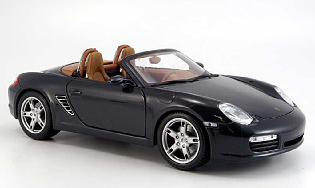 Porsche Boxster 1/18 Maisto s anthrazit 2005 miniature