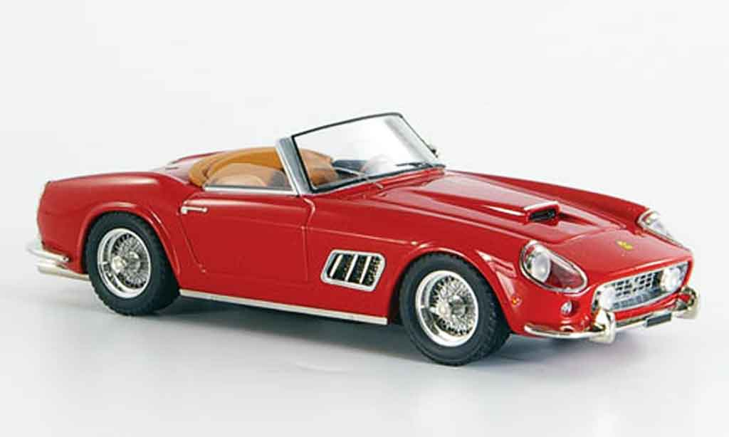 Ferrari 250 Spyder 1/43 Look Smart california offen red diecast