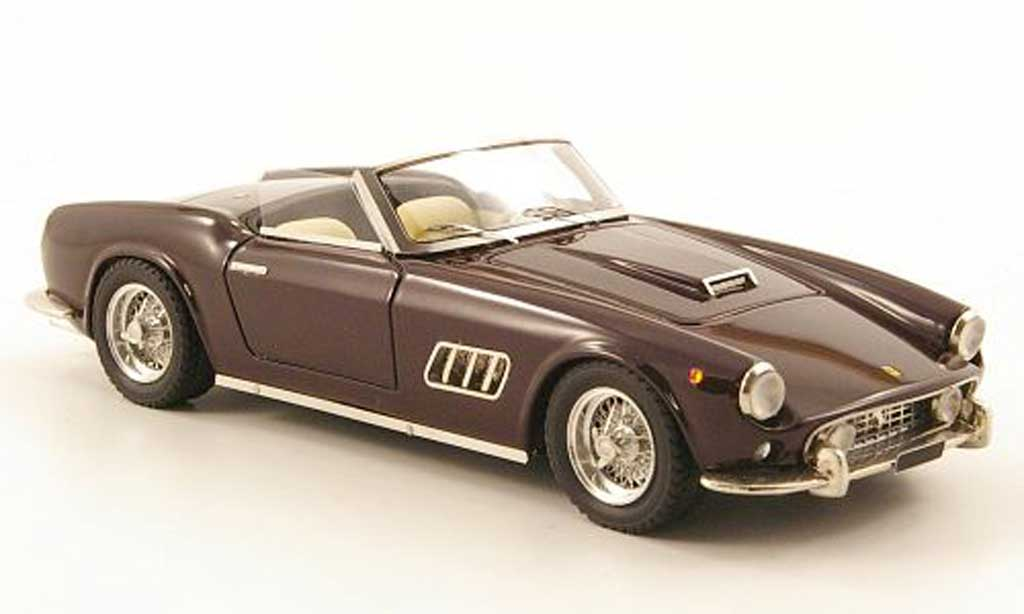 Ferrari 250 GT California 1/43 Look Smart LWB Spider marron modellautos