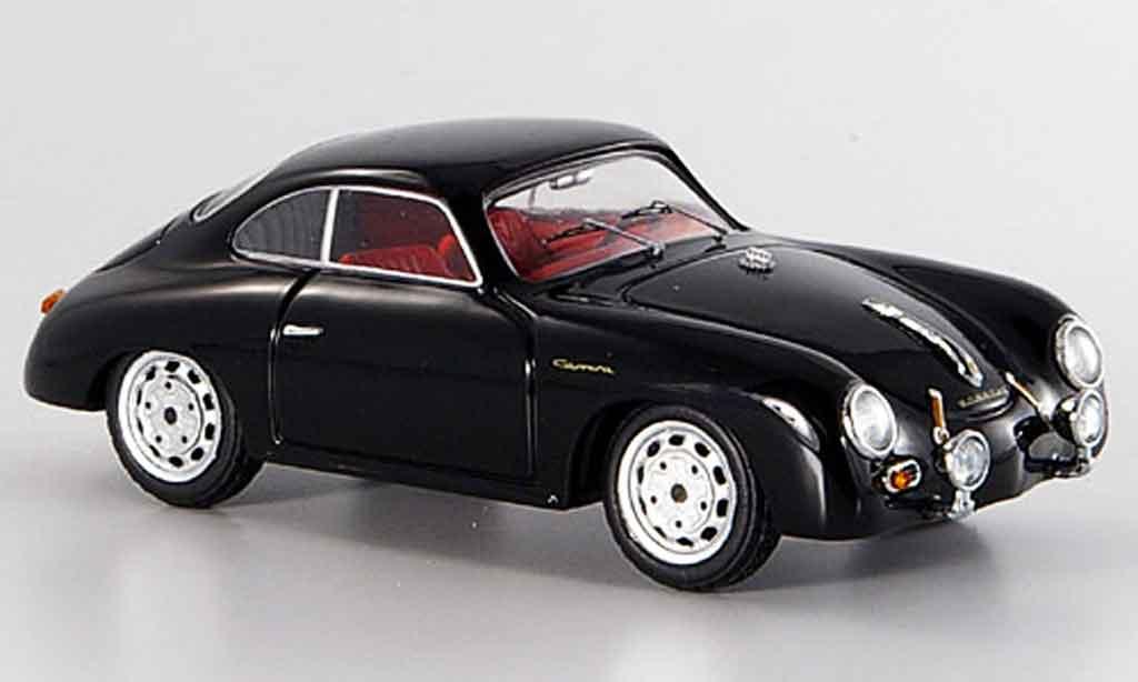 Porsche 356 1/43 Schuco A Carrera GT noire miniature