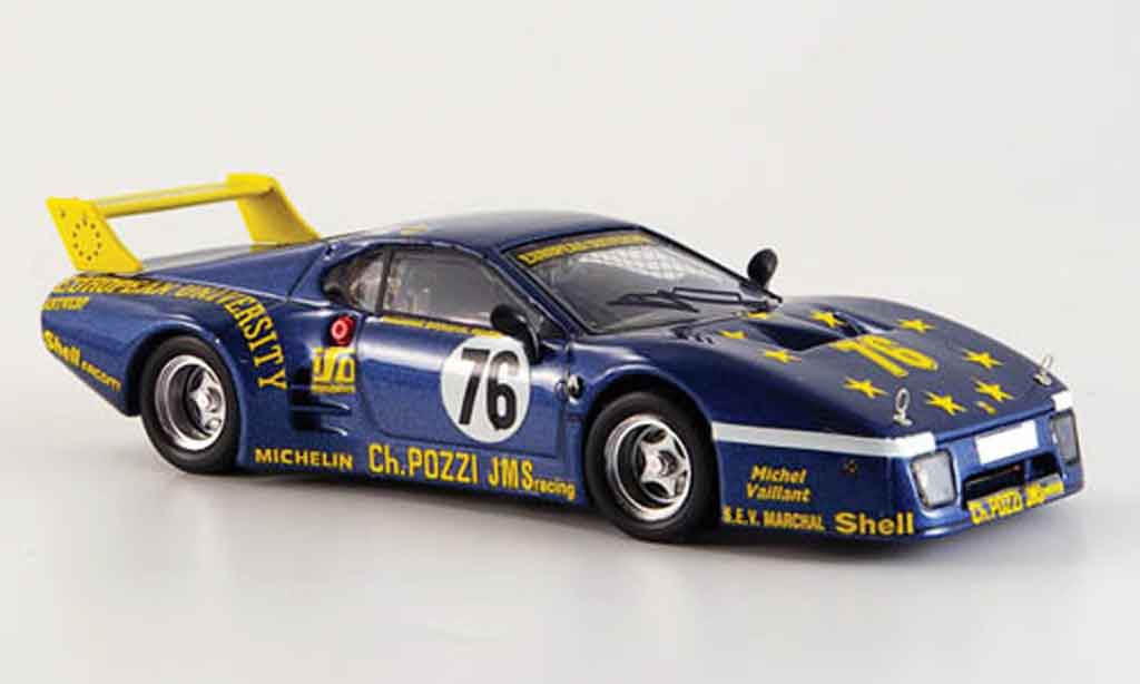Ferrari 512 BB 1/43 Best no.76 le mans 1980 miniature
