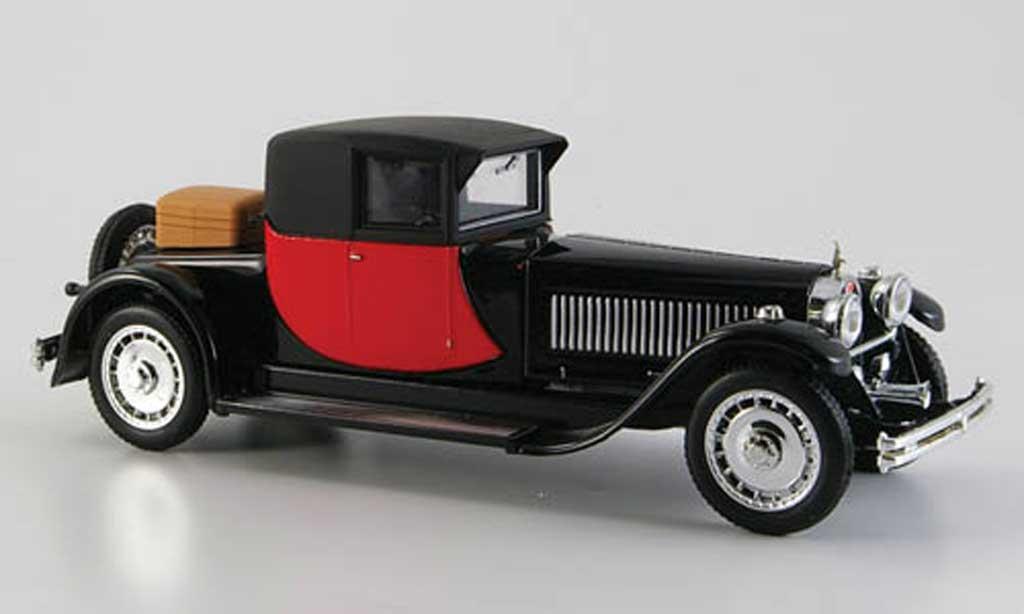 Bugatti Royale 1/43 Rio Coupe Napoleon rouge-noire 1929 miniature