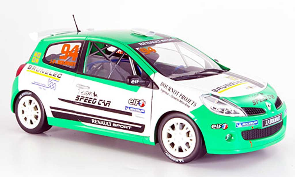 Renault Clio Cup 1/18 Solido no.94 rs bournot 2007 miniature