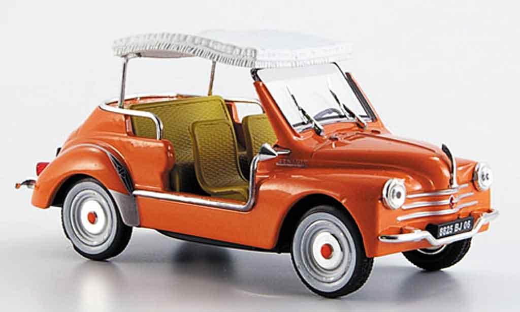 Renault 4CV 1/43 Eligor ghia jolly 1961 miniature