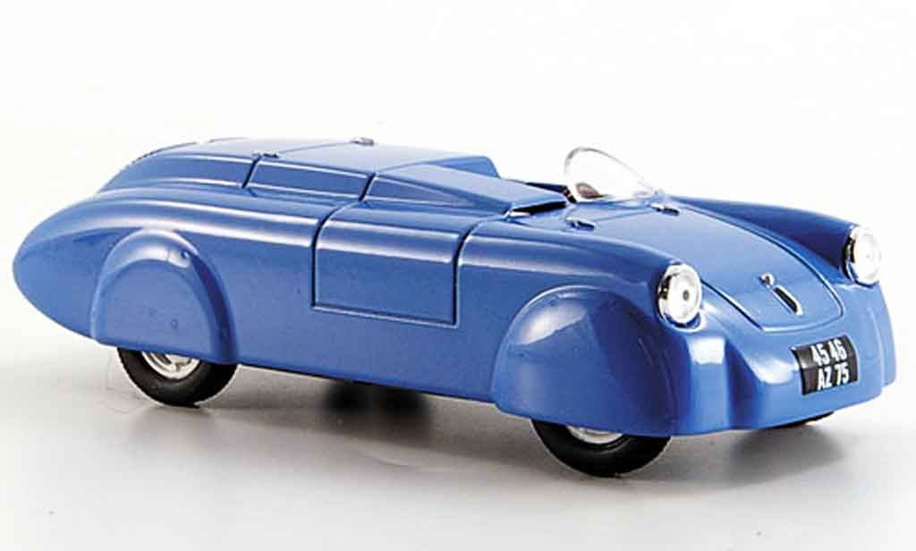 Renault 4CV 1/43 Eligor rekordwagen vernet pairard 1952 modellautos