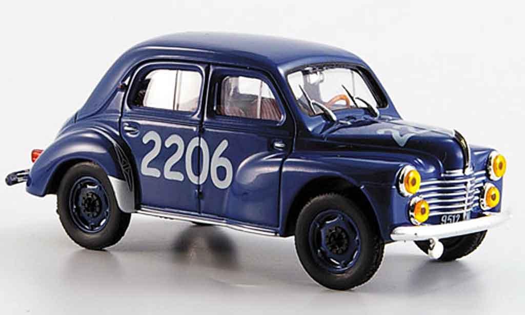 Renault 4CV 1/43 Eligor no.2206 mille miglia 1954 miniature