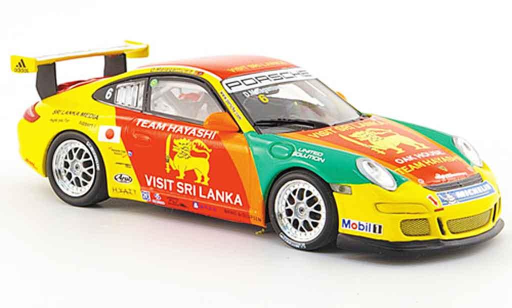 Porsche 997 GT3 CUP 1/43 Minichamps GT3 Cup 2007 Malagawuwa diecast model cars