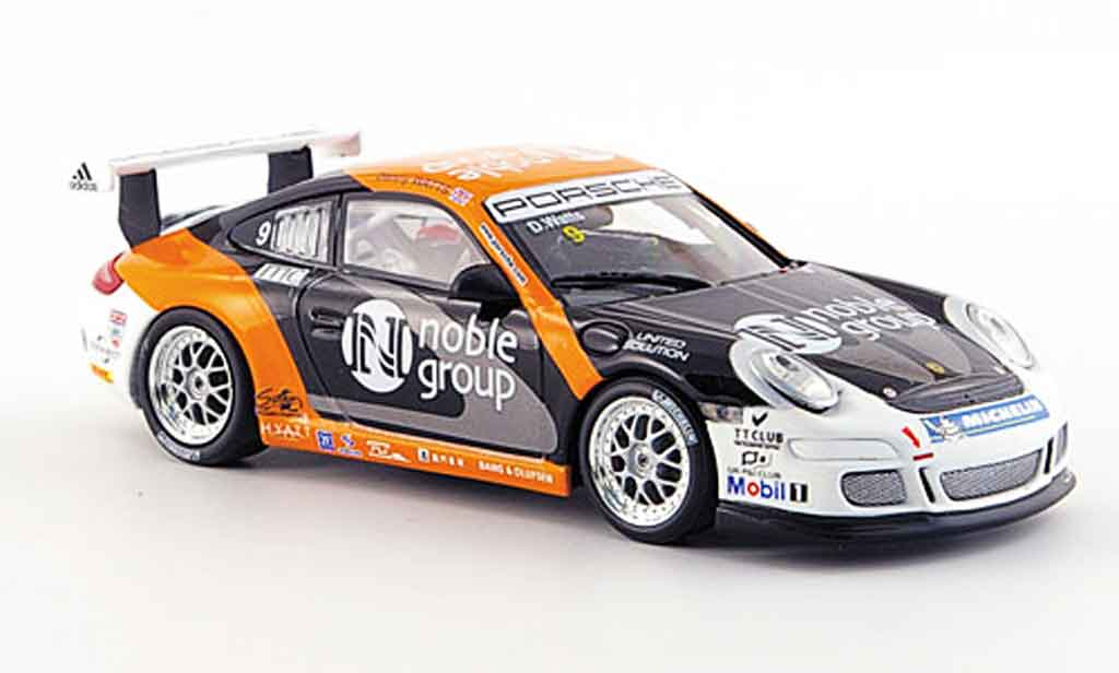 Porsche 997 GT3 Cup 2007 1/43 Minichamps No.9 Watts miniature