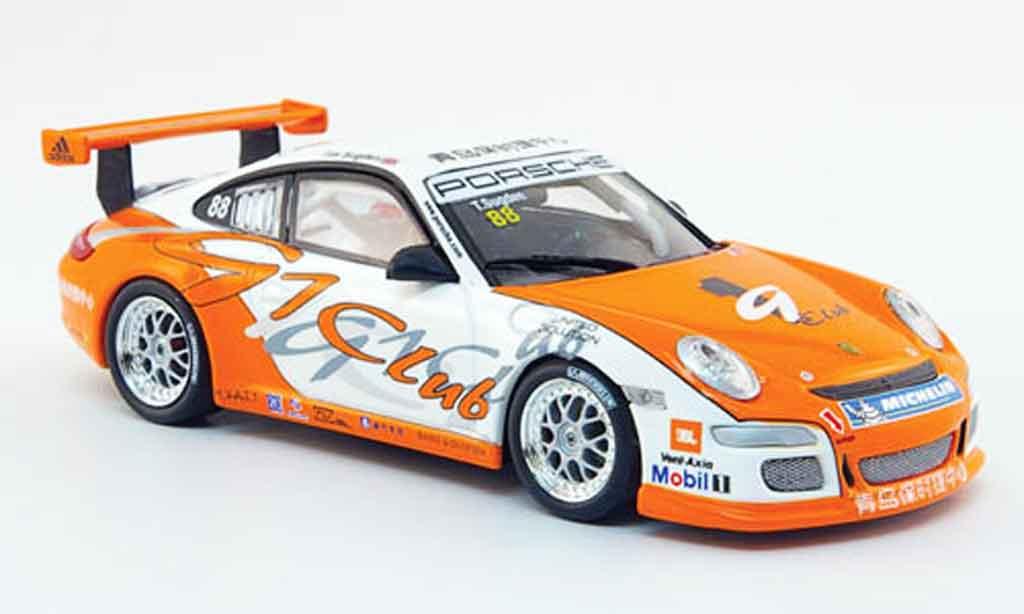 Porsche 997 GT3 Cup 2007 1/43 Minichamps No.88 Carrera Cup Asien Macau