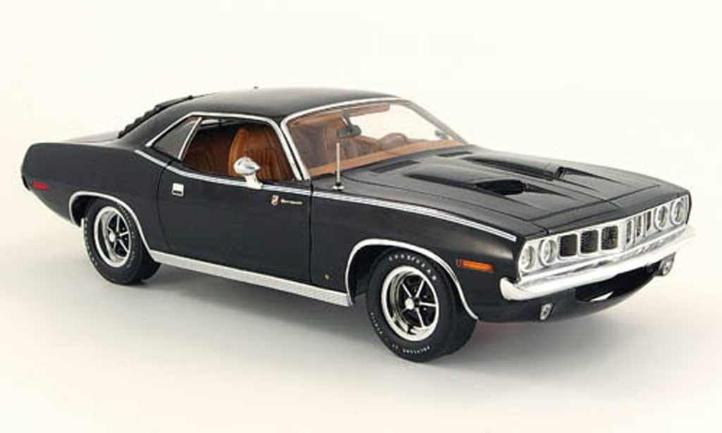 Plymouth Gran Barracuda 1/18 Highway 61 noire 1971