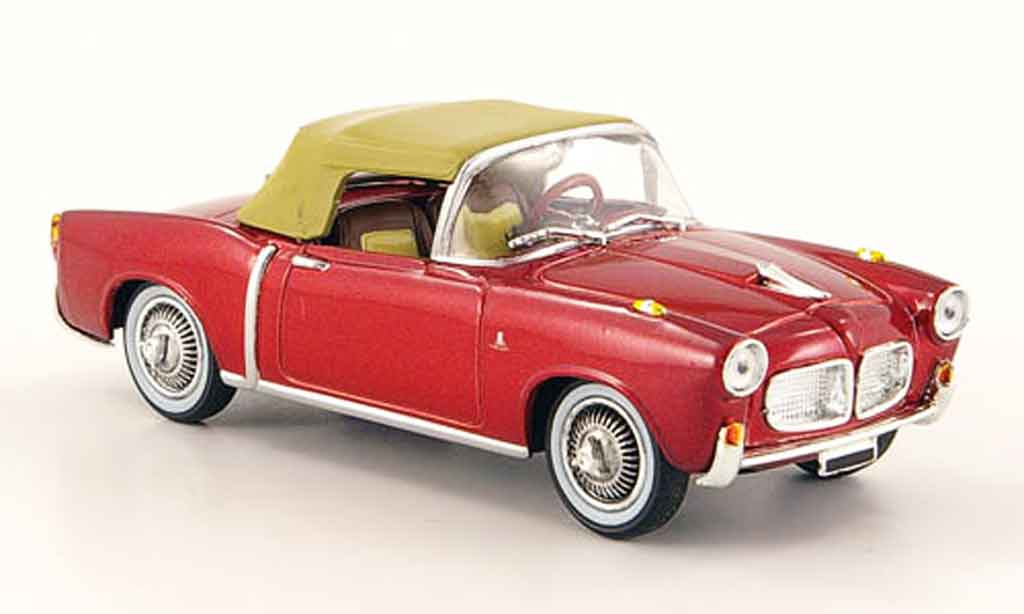 Fiat 1100 1959 1/43 Starline TV rouge miniature