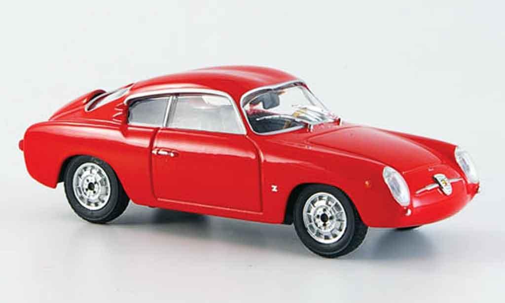 Fiat 750 1/43 Starline Abarth rouge 1956 miniature
