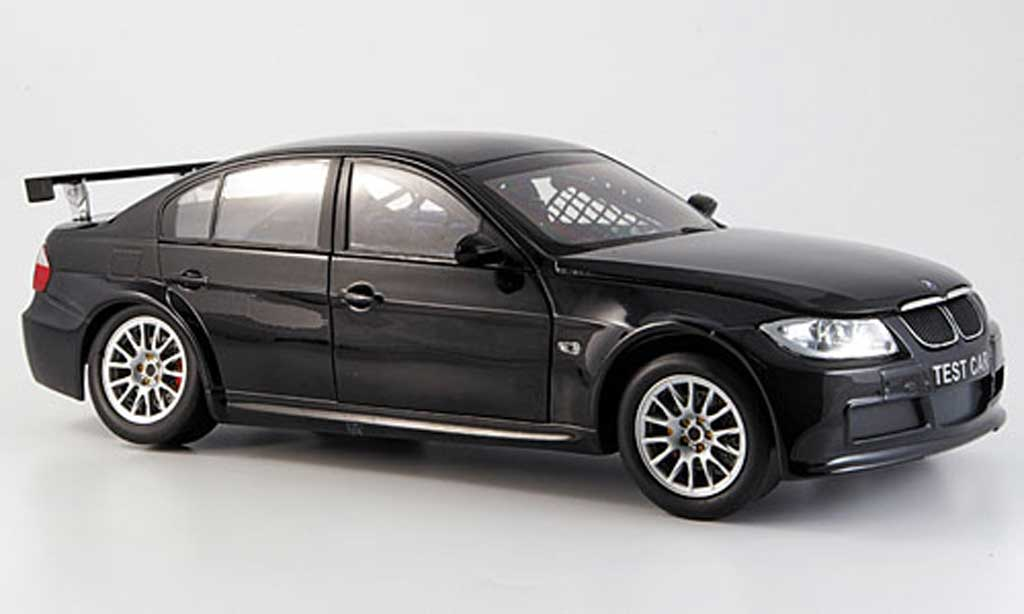 Bmw 320 E90 1/18 Guiloy si black WTCC test car diecast model cars