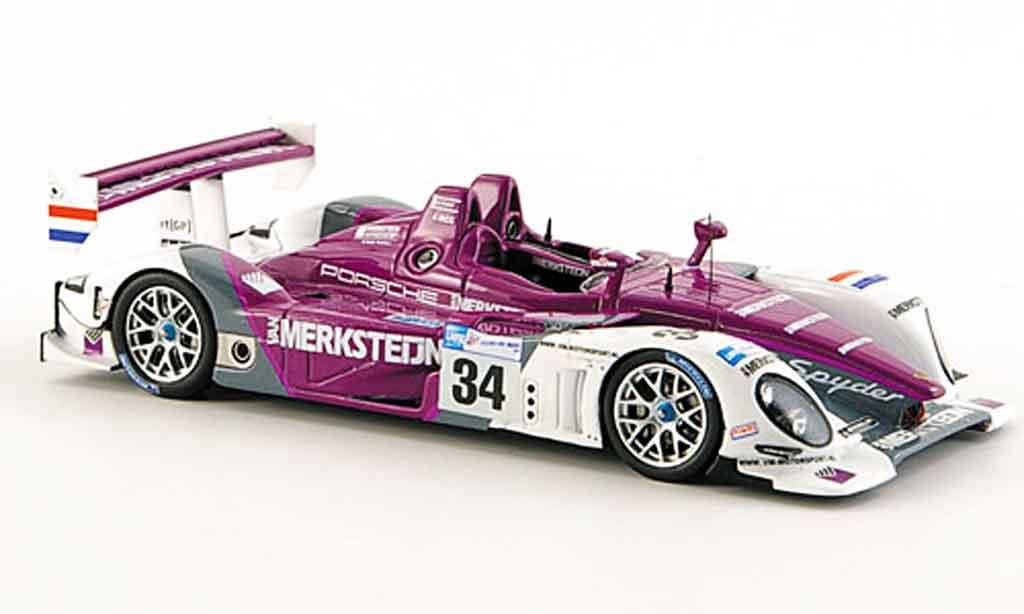 Porsche RS Spyder 1/43 Spark No.34 1. Le Mans 2008 miniature