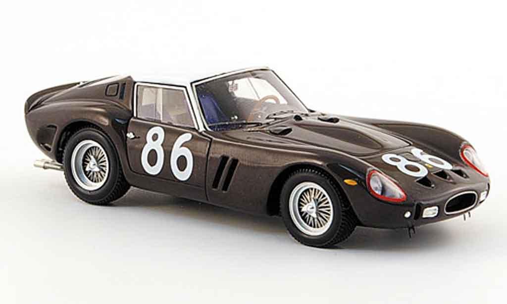 Ferrari 250 GTO 1962 1/43 Red Line no.86 4.targa florio miniature