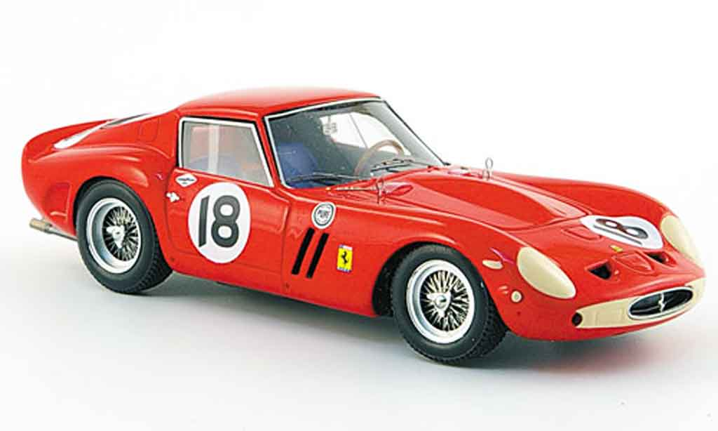 Ferrari 250 GTO 1963 1/43 Red Line no.18 siger daytona continental miniature