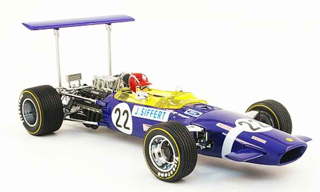 Lotus 49B 1/18 Quartzo no.22 j.siffert gp grossbritannien 1968 miniature